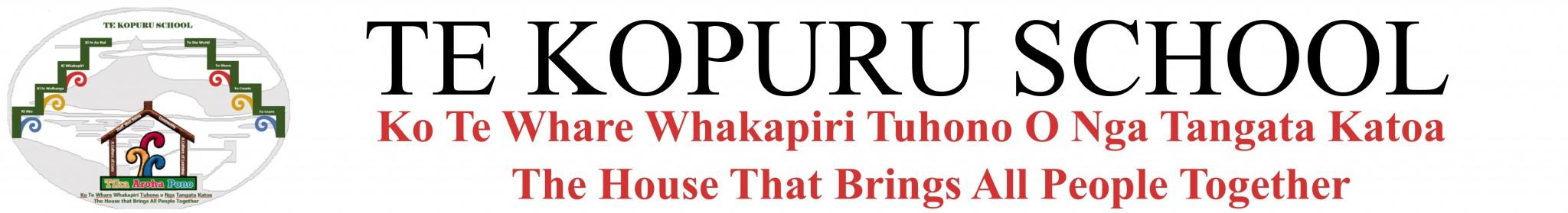 Te Kopuru School Logo